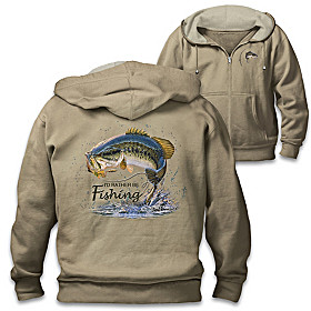 Fish On! Men's Hoodie