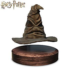 HARRY POTTER Levitating Sorting Hat Sculpture