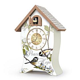 Garden Blessings Clock