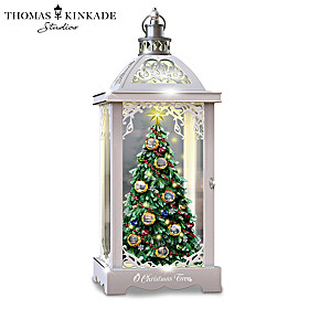 Thomas Kinkade O Christmas Tree Lantern