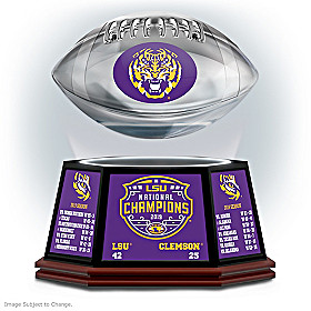 LSU Tigers 2019 Football National Champions Sculpture