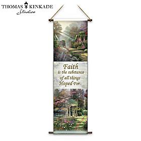 Thomas Kinkade Faith Wall Decor