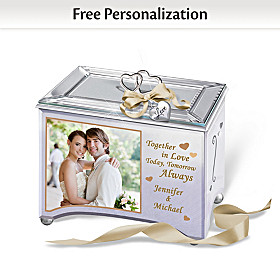Together In Love Personalized Music Box