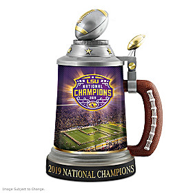 LSU Tigers 2019 Football National Championship Stein