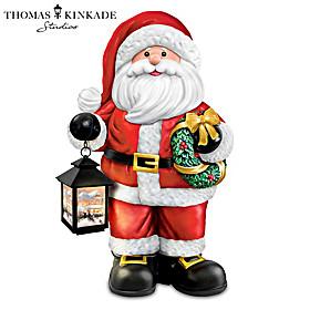 Thomas Kinkade Merry Christmas Sculpture