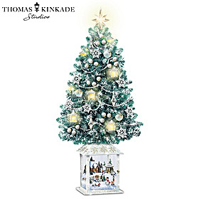 Thomas Kinkade Festival Of Lights Christmas Tree