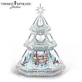 Thomas Kinkade Reflections Of Joy Sculpture
