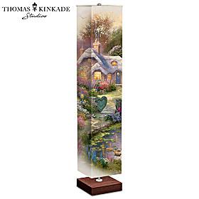 Thomas Kinkade Country Cottage Floor Lamp