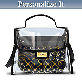 Clearly Yours Personalized Handbag