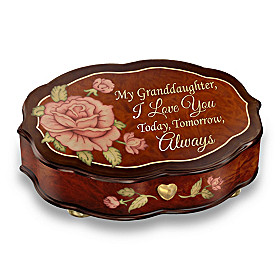 Granddaughter, Love You Always Music Box