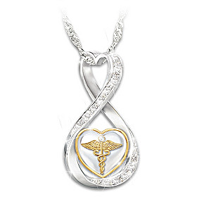 Work Of Heart Pendant Necklace