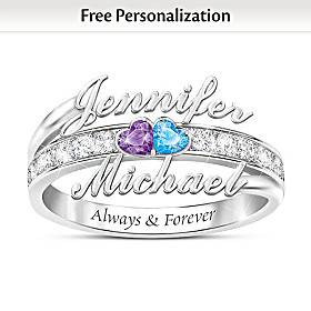 Forever Us Personalized Ring