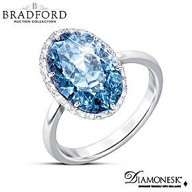 Vivid Blue Ring