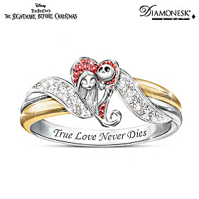 The Nightmare Before Christmas Embrace Ring