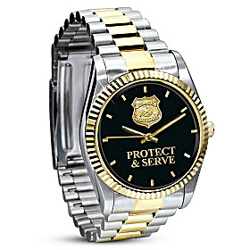 Protect & Serve Men's Watch