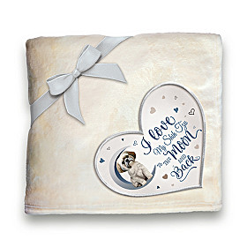 Heartwarming Shih Tzu Blanket
