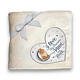 Heartwarming Pomeranian Blanket