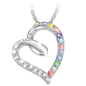 Daughter, Wishes From My Heart Pendant Necklace