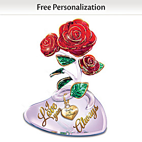 I Love You Always Personalized Sculpture