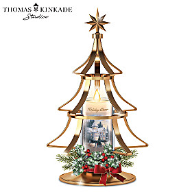 Thomas Kinkade Holiday Cheer Christmas Tree