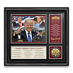 The 45th U.S. President Trump Wall Decor