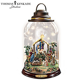 Thomas Kinkade O Holy Night Lantern