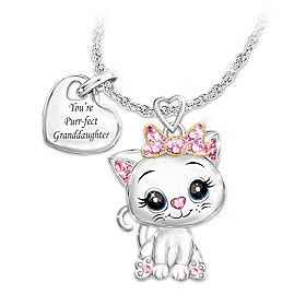You're Purr-fect To Me Pendant Necklace