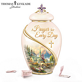 Thomas Kinkade A Prayer For Every Day Prayer Jar