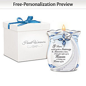 Loving Memories Personalized Candleholder