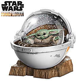 The Mandalorian The Child Glitter Globe