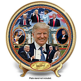 Donald Trump: America's 45th President Collector Plate