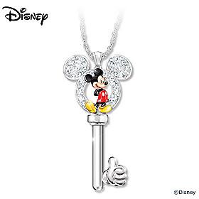 Disney Unlock The Magic Of Mickey Mouse Pendant Necklace