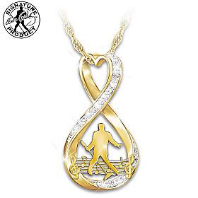 Elvis Forever Pendant Necklace