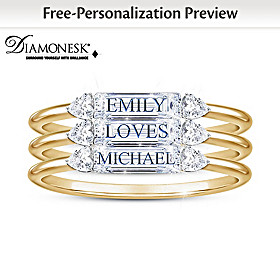 Built On Love Personalized Ring Set