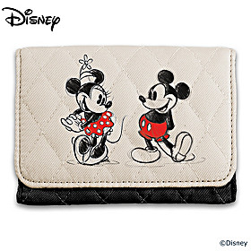 Disney Mickey Mouse & Minnie Mouse Wallet