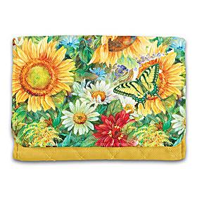Sunflower Splendor Wallet