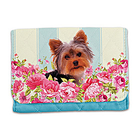 Playful Pup Yorkie Wallet