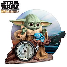 STAR WARS The Mandalorian Grogu Clock
