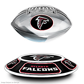 Atlanta Falcons Levitating Football Sculpture