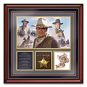 John Wayne Spirit Of The West Wall Decor