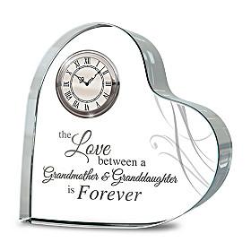 Forever Loved Clock