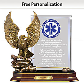 EMT Personalized Sculpture