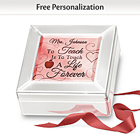 To Teach Is To Touch A Life Forever Personalized Music Box