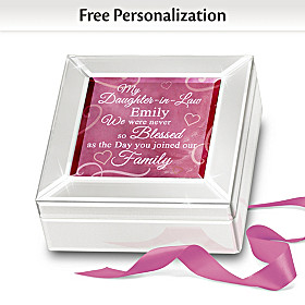 Daughter-In-Law Personalized Music Box