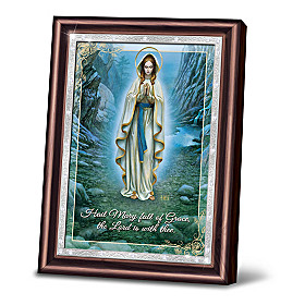 Our Lady Of Lourdes Wall Decor
