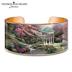 Thomas Kinkade Serenity's Garden Bracelet