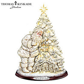 Thomas Kinkade The Miracle Of Christmas Tree