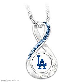 2020 World Series Champions Dodgers Pendant Necklace