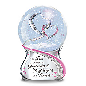 The Love Between A Grandmother & Granddaughter Glitter Globe