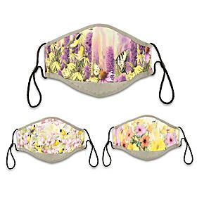 Floral Face Mask Set